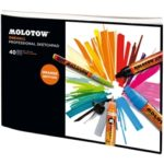 ALBUM DESEN ARTPAD ONE4ALL PROFESSIONAL 40 FILE A4 MOLOTOW
