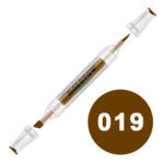 MARKER MOLOTOW AQUA TWIN 2-6 MM BROWN