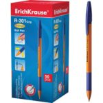 PIX CU BILA R-301 ALBASTRU 0.7 MM ORANGE STICK ERICH KRAUSE 39531