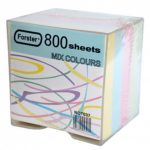 CUB NOTITE PLASTIC 800FILE MULTICOLOR 80*80