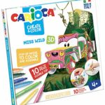 Set creativ Create & Color Miss Wild 3D Carioca 42906