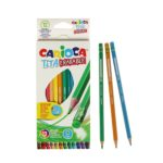 CREIOANE COLOR 12 SET CARIOCA CU GUMA TITA ERASABLE 42439075