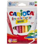 Carioca 10 set CARIOCA Magic Marker Erasable 41238