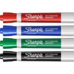 MARKER WHITEBOARD SHARPIE DRYWIPE BLACK 2MM