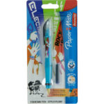 STILOU PAPERMATE EXTRA GLIDE/EXTRA GLISSE CU 2 CARTUSE IN BLISTER