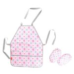 SET SORT CU MANECI ERICH KRAUSE PINK FLOWERS 48289