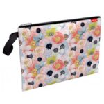 MAPA TEXTIL ZIPPER ErichKrause® Flower Cocktail A4